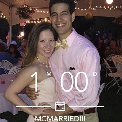 Uh-oh @m_malanga you gonna be my bride in a month #mcmarried2016 #themcmahons #married