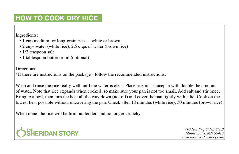 HOW TO COOK DRY RICE