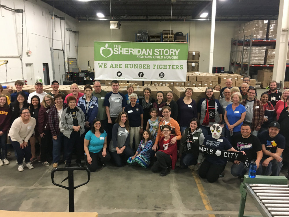 Kiwanis Club Packing Event 4/24/17