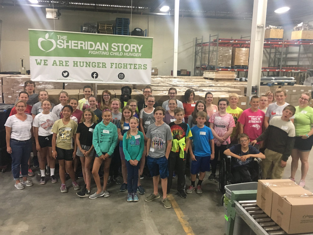 Presbyterian of the Northern Plains Packing Event 6/23/17