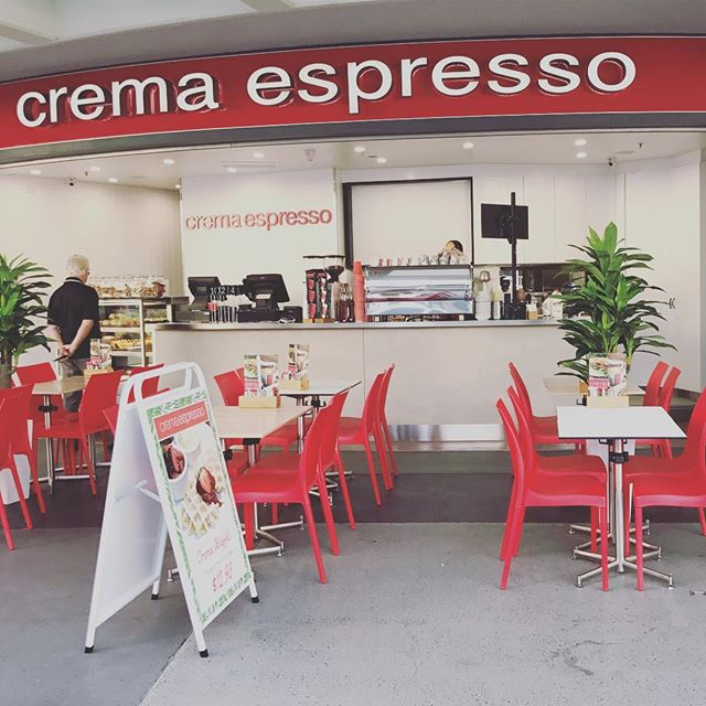 Crema Broadbeach is reopen and looking fresh!