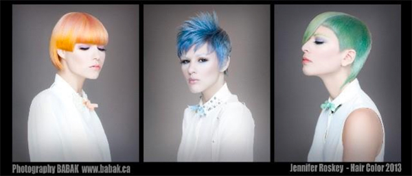 Jennifer Roskey – Nominated in the NAHA 2013 Haircolor Category