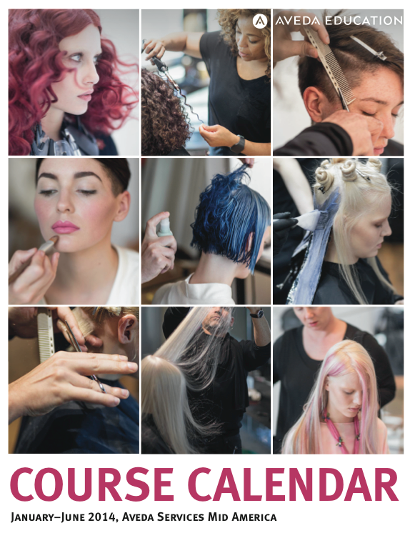 Download the Aveda Education Course Calendar.