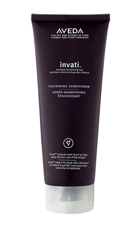 invati™ thickening conditioner  thickens hair and restores strength. 6.7 fl oz/200 ml