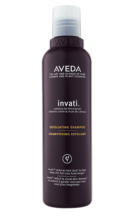 invati™ exfoliating shampoo  cleanses and renews the scalp.  6.7 fl oz/200 ml