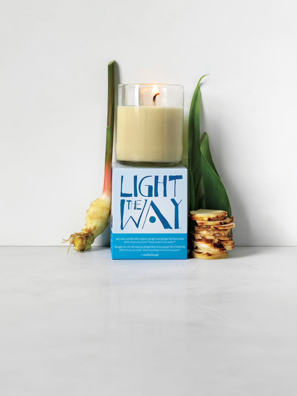 AVEDA's new Earth Month candle. A soy wax candle with organic spices from Madagascar. 100% of all proceeds go to The Alliance for the Great Lakes.