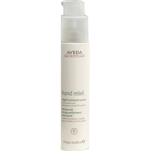 Hand Relief Night Serum renews hands while you sleep.