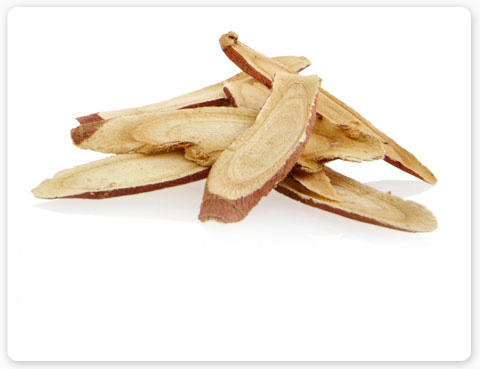 "LICORICE (GLYCYRRHIZA GLABRA), is also known as ""sweet wood"" and can be found in Aveda Hand Relief and Comorting Tea Bags."