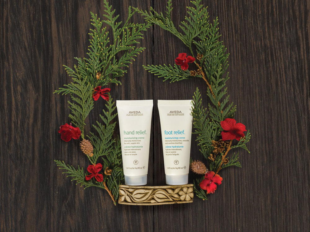 A Gift of Relief for the Road $19  hand relief™ moisturizing creme, 40 ml foot relief™ moisturizing creme, 40 m