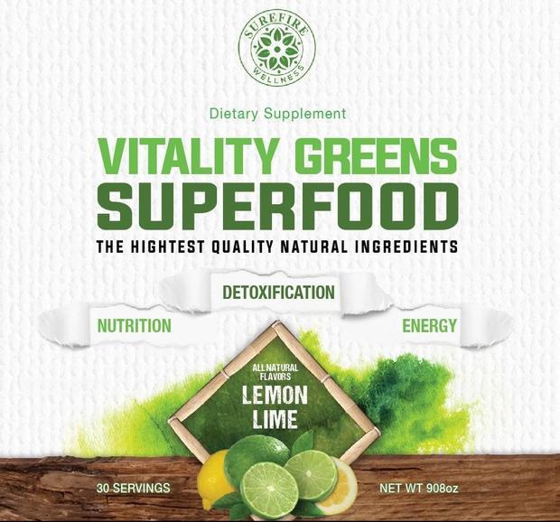 vitality greens superfood brown aveda tessa