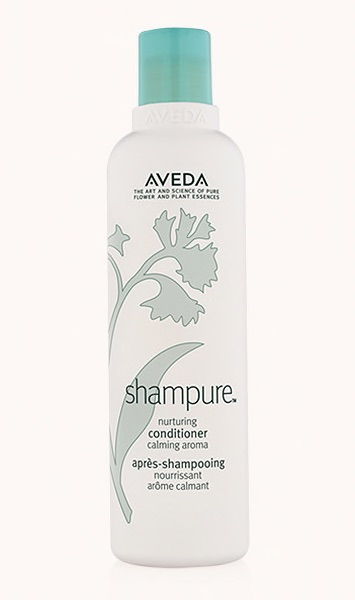 shampure™ nurturing conditioner  Calming shampure™ aroma with 25 pure flower and plant essences - including certified organic lavender, petitgrain and ylang ylang.