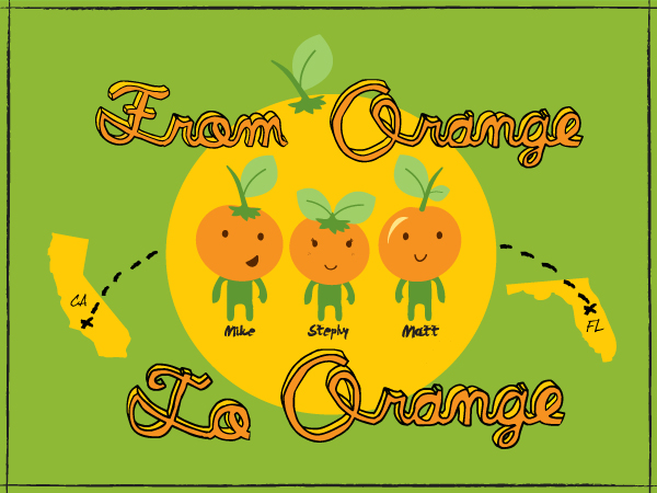 From Orange to Orange Logo