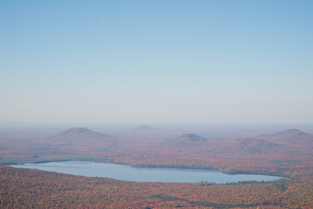 nature, forest, landscape, mountains, lake, adirondacks, meacham lake, debar mountain