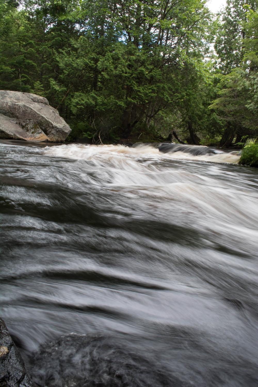 nature, landscape, waterfall, river, rapids, high falls, salmon river, adirondacks