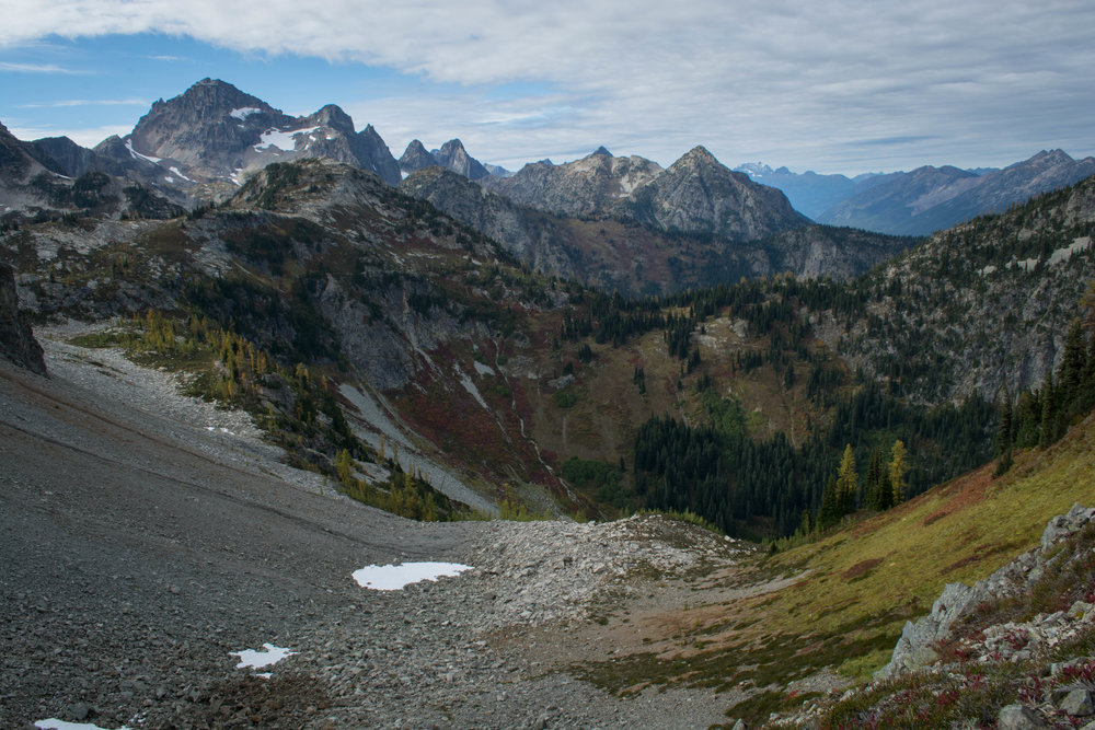 nature, landscape, mountains, north cascades