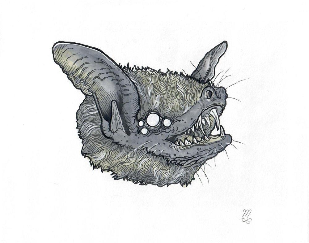 """Fauna #1 """"Bat"""", 2017"""