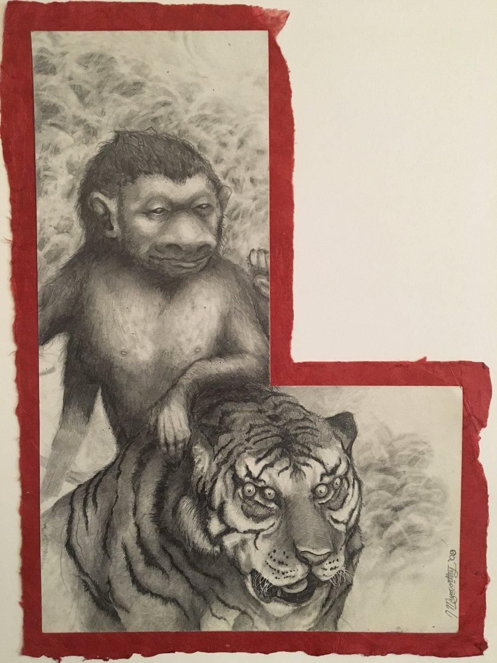 """""""Fauna, Muxworthy Crest 5/5"""" 2009"""