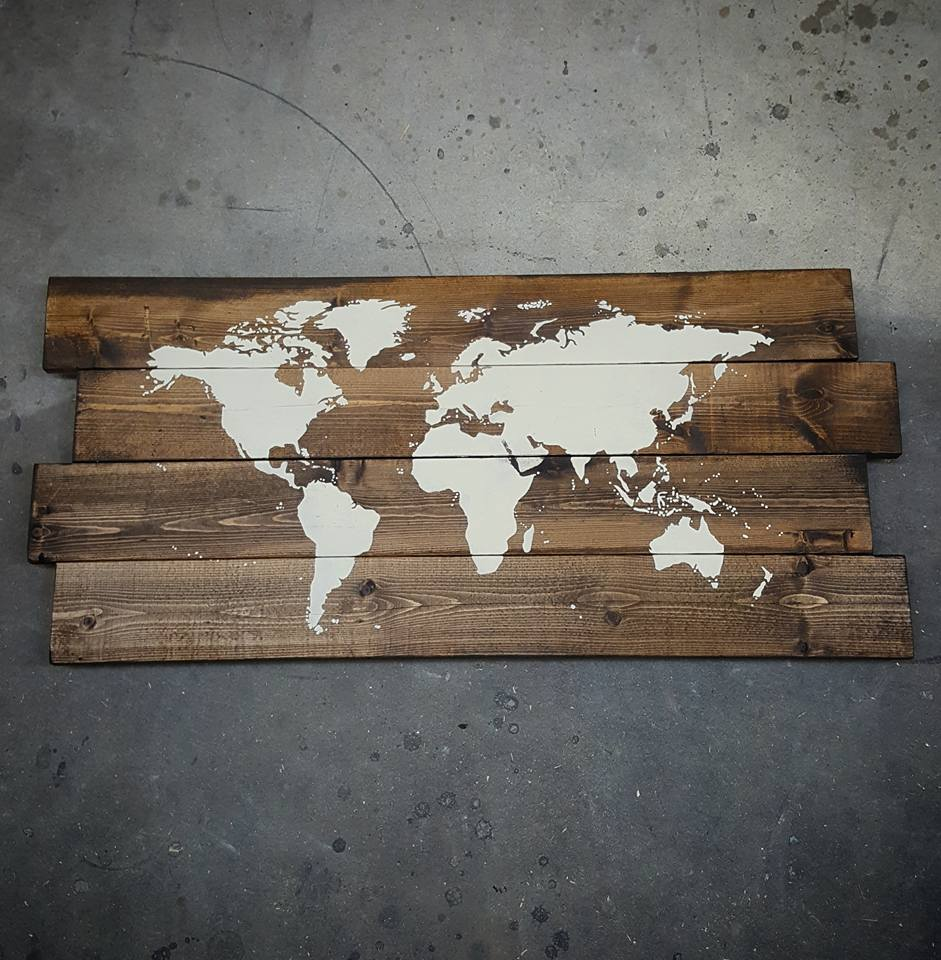 World Map — Watson\'s Hound Lounge | Dog Daycare & Grooming