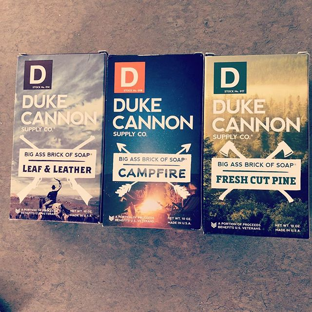 @dukecannon makes the best soap period! The fact that they support our troops absolutely makes them worth buying from too. These scents are phenomenal!!!! #soap #military #buy