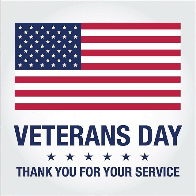 To the men and women of our Armed Forces and their families who sacrifice so very much, Happy Veterans Day!