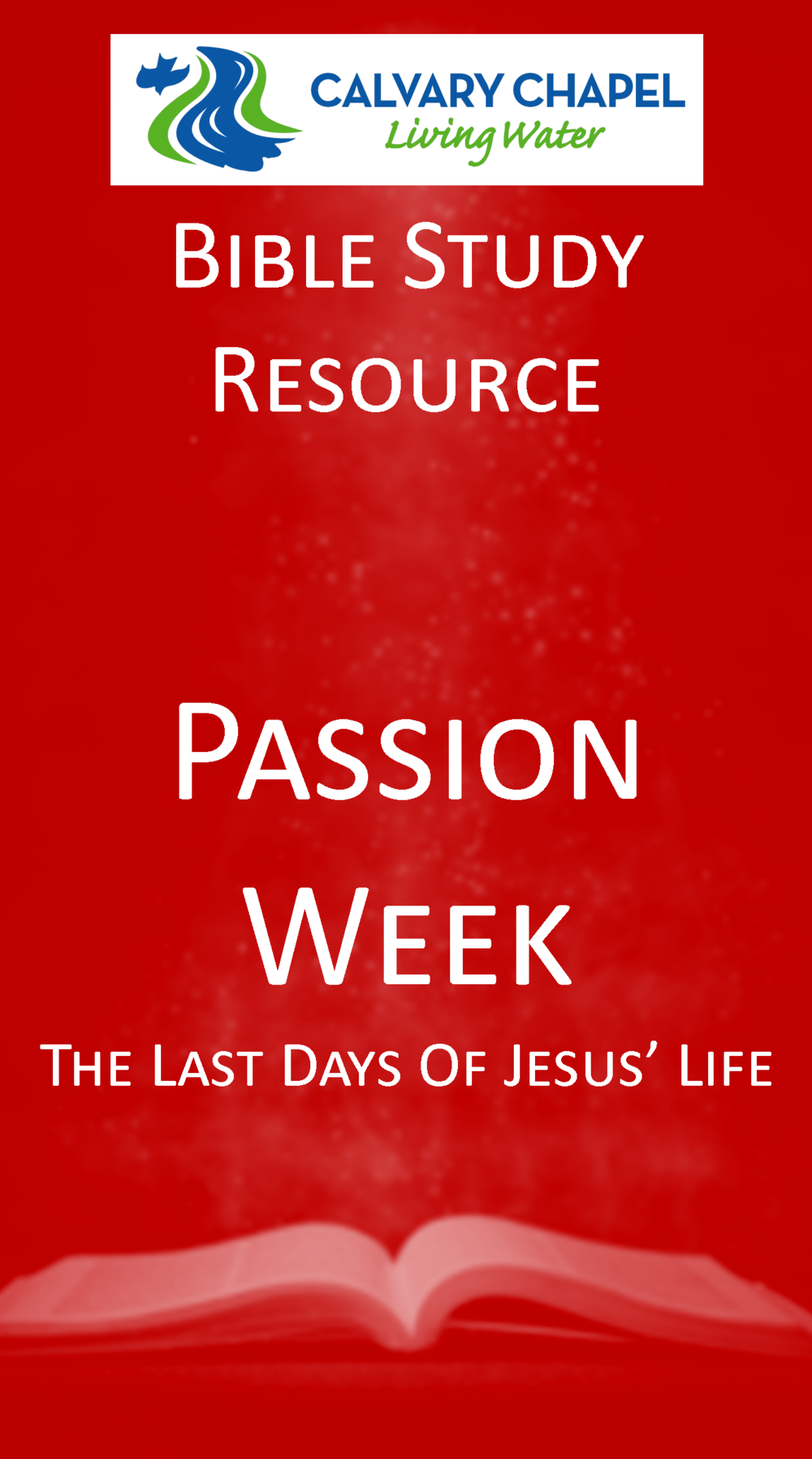 Handout: Passion Week