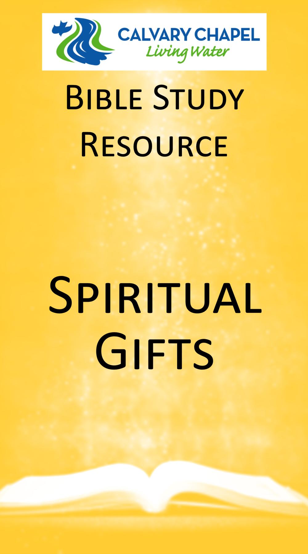 Handout: Spiritual Gifts