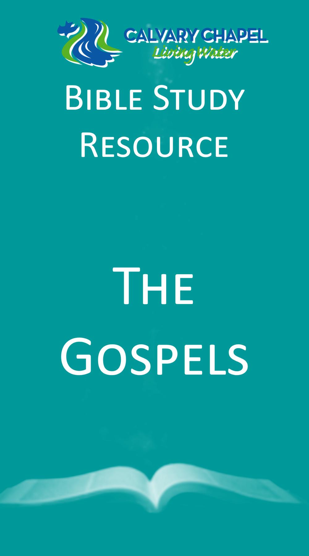 Handout: Gospels