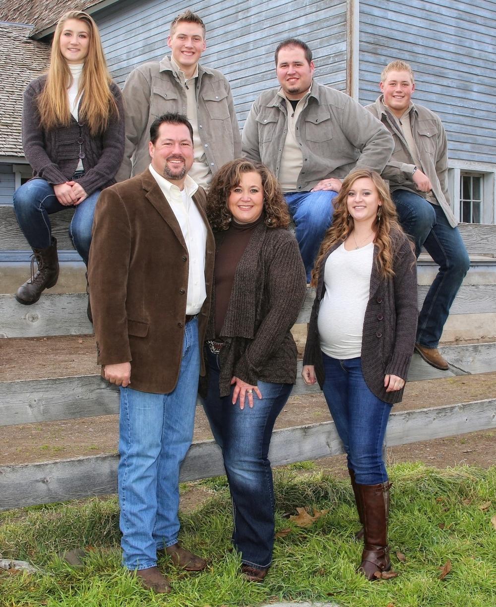 Douville Family Hagerman, Idaho