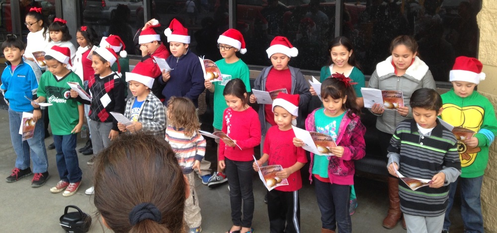 Christmas Carols at Walmart