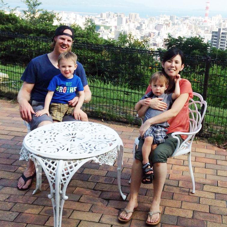 Wunderlich Family Kagoshima, Japan
