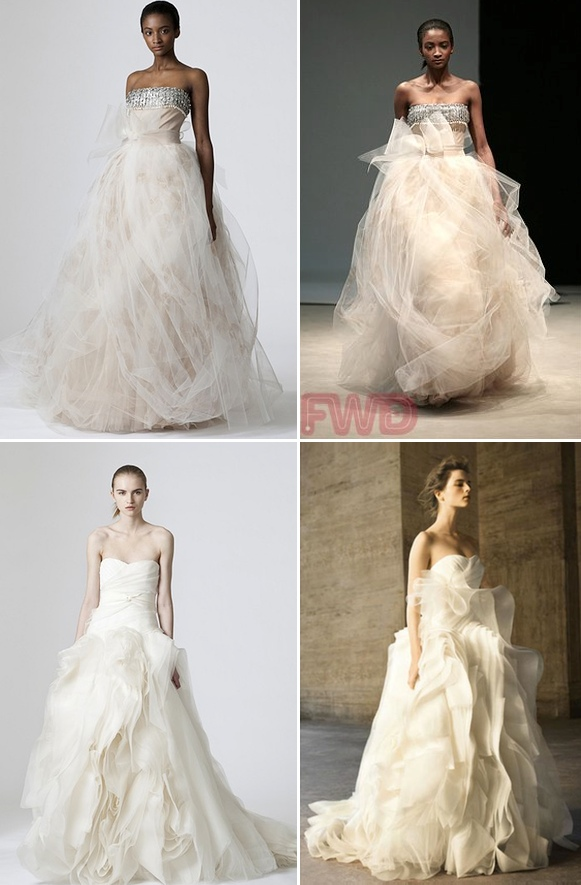 Vera Wang Wedding Dress Collection – Diana and Dorothy {My Faves ...
