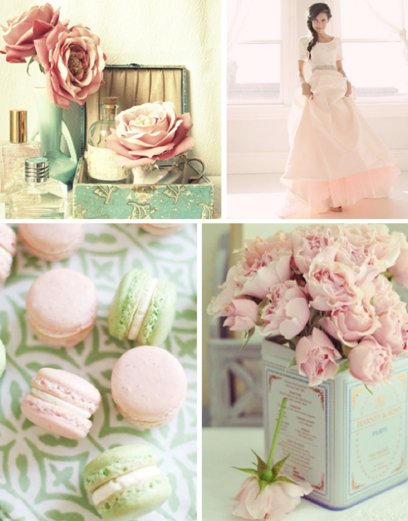 A Tale of Two Color Palettes | Engaged & Inspired Wedding Planning