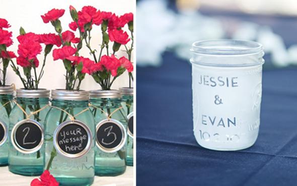 Mason Jar Wedding Favors Simple Mason Jar Ideas Ice Cream In A