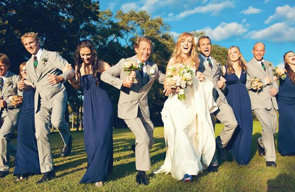 Light Grey Colored for Bridesmaids Dresses
