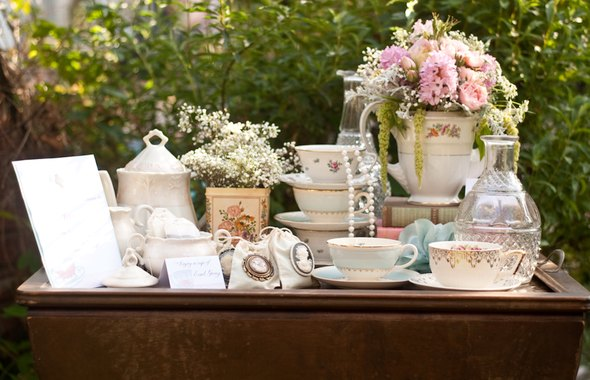 Tea Party Bridal Shower Engaged amp Inspired Wedding Planning