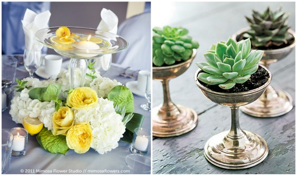 Succulent Centerpieces A New Engagement Engaged Inspired
