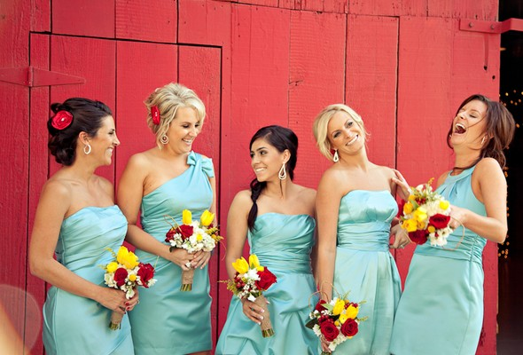Aqua + Red Country Wedding | Engaged & Inspired Wedding Planning