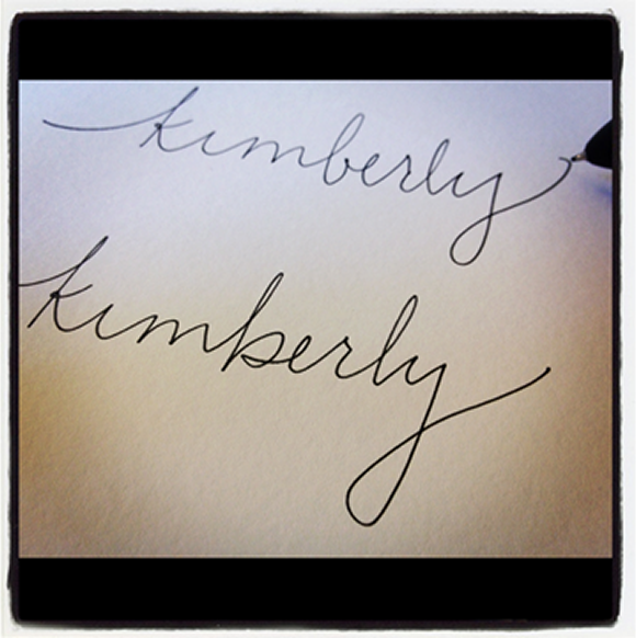 Try A Few Different Styles Get Creative Add Some Flourishes You Want To Have Options For Which Turn In Calligraphy