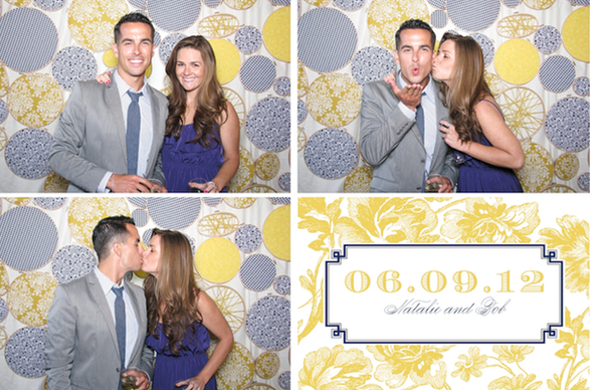Real EI Wedding Natalie Bobs Photobooth Backdrop