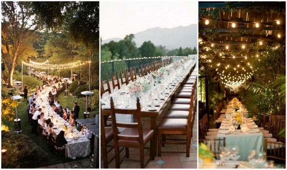 Wedding Dinner To Family Style Or Not Engaged Inspired