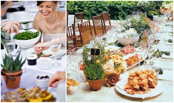 Wedding Dinner :: To Family Style or Not | Engaged & Inspired ...