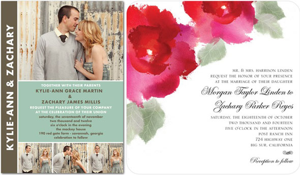 Stationery etiquette with wedding paper divas engaged inspired wedding invites wedding paper divas junglespirit Gallery