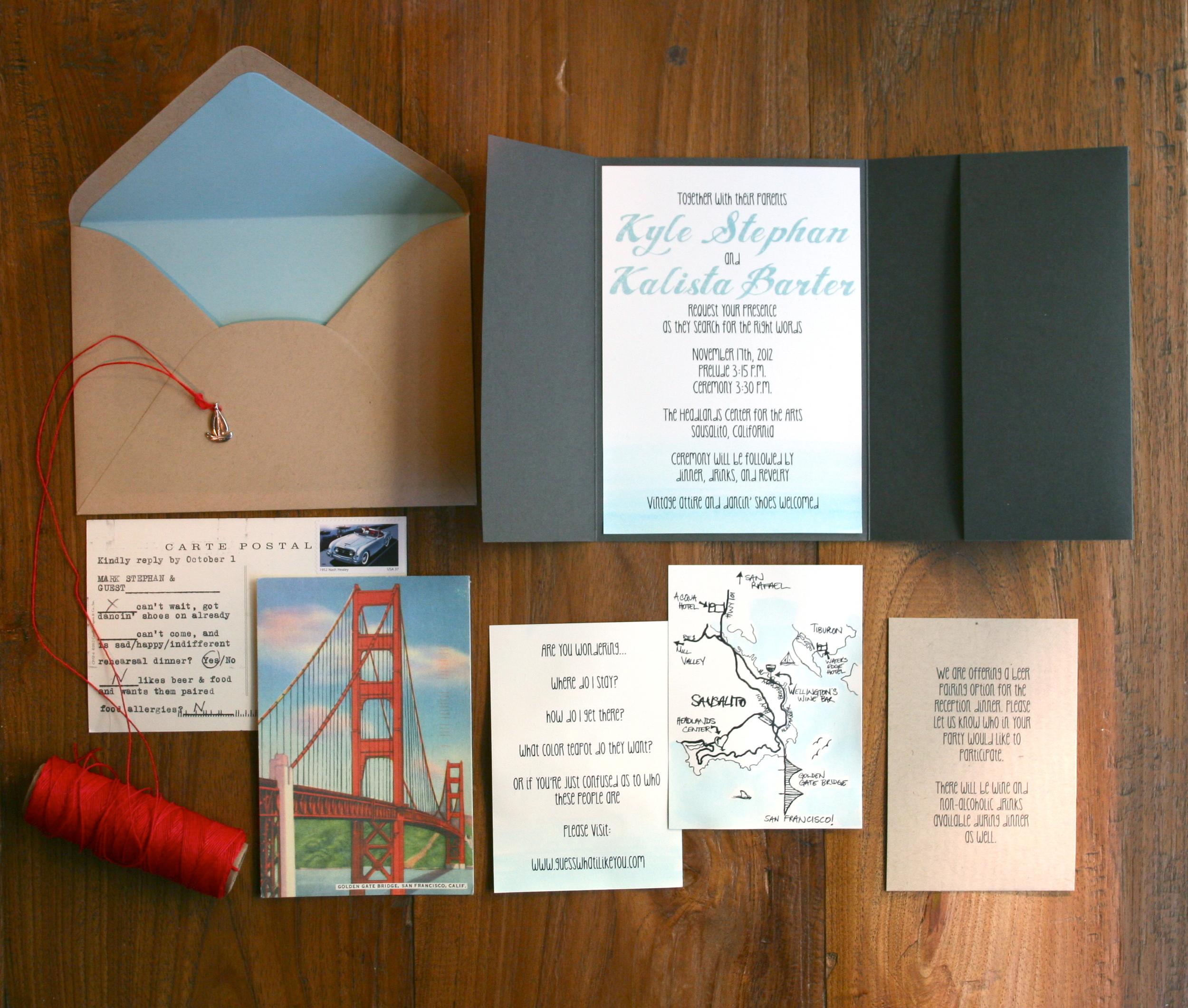 diy invitations revealed   engaged & inspired wedding planning, Wedding invitations