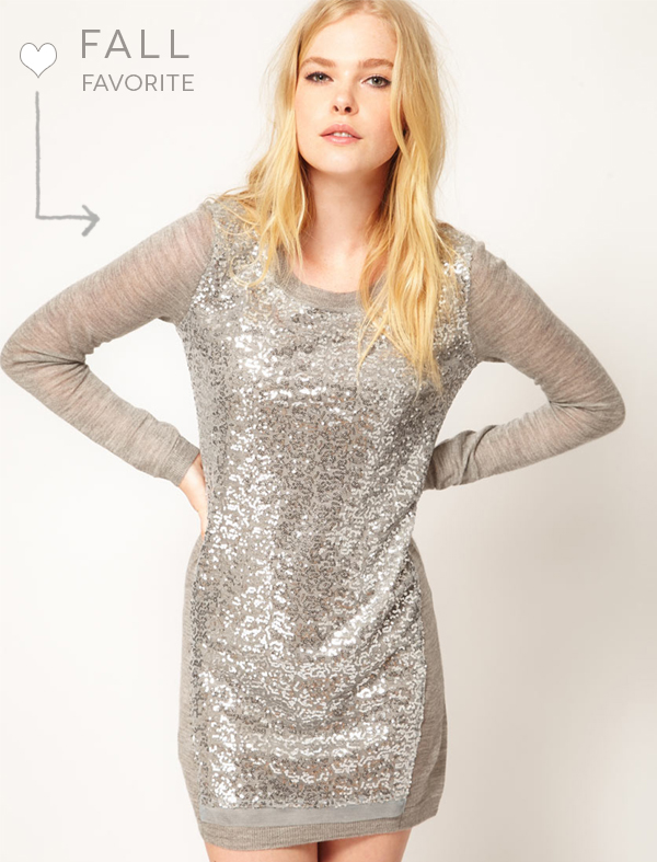 Fall Favorite: Sequin Sweater Dress | Engaged & Inspired Wedding ...