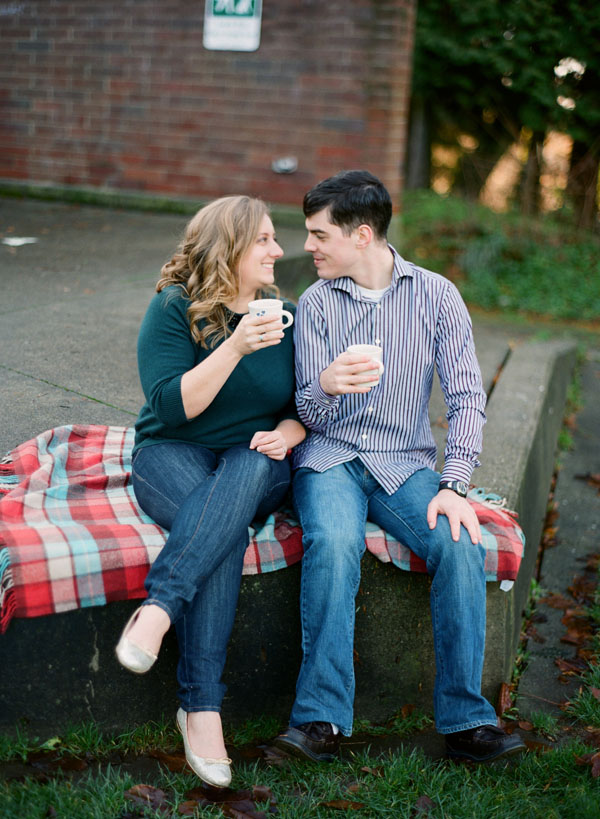 Seattle Couple Erik Brianne Spring Industrial Chic Wedding - 1