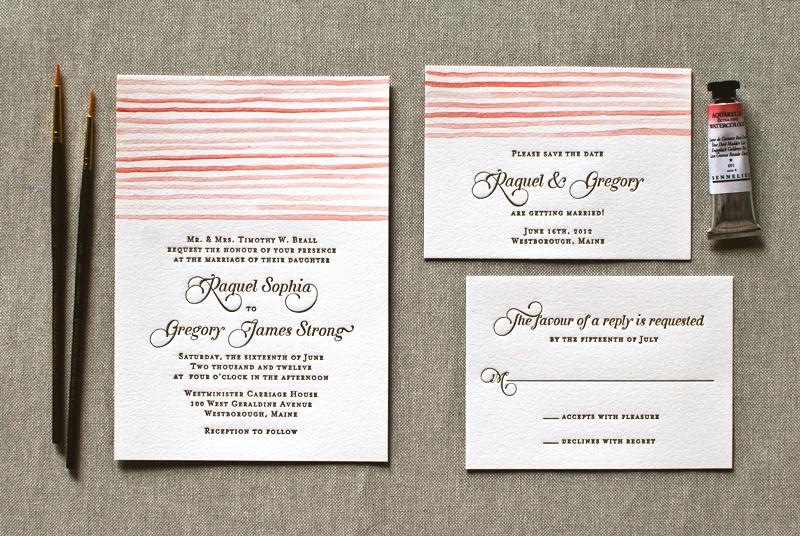 Seersucker-Letterpress-Watercolor-Wedding-Invitations-Aerialist-Press