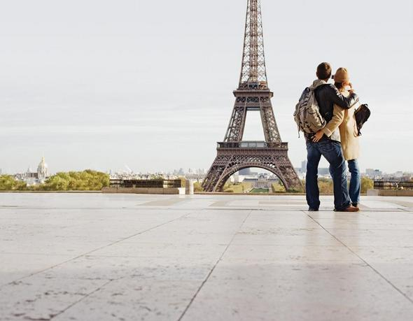 france paris wedding honeymoon attractions - eiffel tower