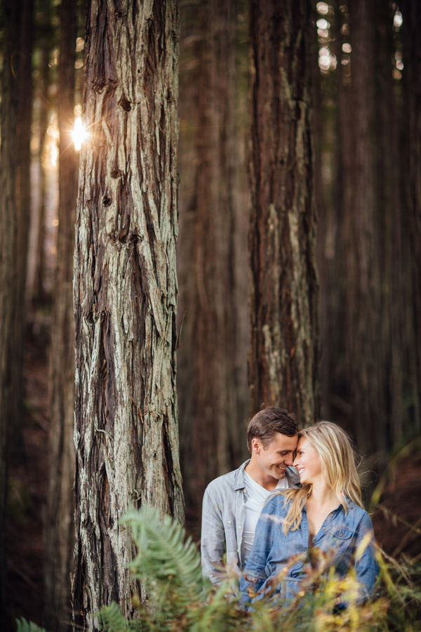 Sunset Engagement Session By Britt Rene Photography