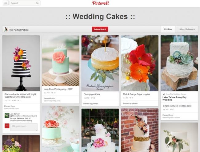 Photo via Wedding Cake Creations