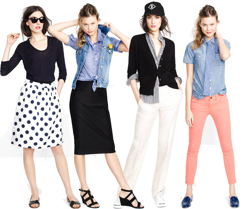 alexandrasarchive :     looks we love from j. crew